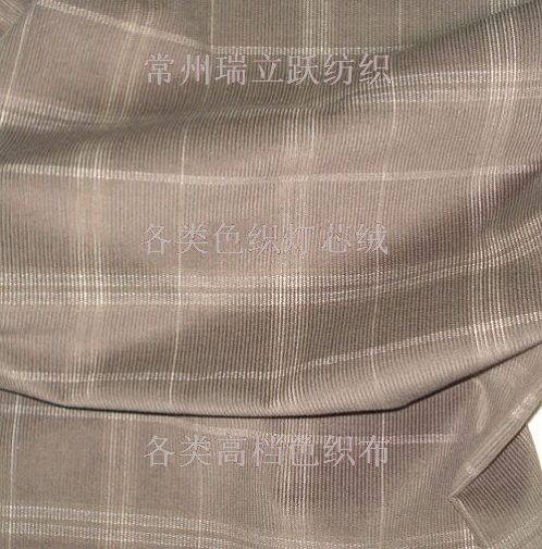 色织灯芯绒厂家讲述帆布面料的特点